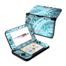 DecalGirl N3DX-FLOR-BLU Nintendo 3DS XL Skin - Flores Agua (Skin Only)
