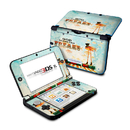 DecalGirl Nintendo 3DS XL Skin - God Bless The Freaks (Skin Only)