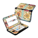 DecalGirl N3DX-IKATF Nintendo 3DS XL Skin - Ikat Floral (Skin Only)