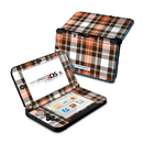 DecalGirl N3DX-PLAID-CPR Nintendo 3DS XL Skin - Copper Plaid (Skin Only)