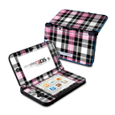 DecalGirl N3DX-PLAID-PNK Nintendo 3DS XL Skin - Pink Plaid (Skin Only)
