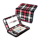 DecalGirl N3DX-PLAID-RED Nintendo 3DS XL Skin - Red Plaid (Skin Only)