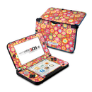 DecalGirl N3DX-SQUISHEDFLWRS Nintendo 3DS XL Skin - Flowers Squished (Skin Only)