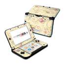 DecalGirl N3DX-TSCROLL Nintendo 3DS XL Skin - Tulip Scroll (Skin Only)