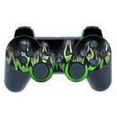 DecalGirl PS3 Controller Skin - Acid Flames (Skin Only)