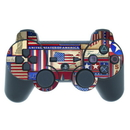 DecalGirl PS3C-FLAGPWORK PS3 Controller Skin - Flag Patchwork (Skin Only)