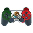DecalGirl PS3C-MEXICO PS3 Controller Skin - Mexican Flag (Skin Only)