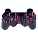 DecalGirl PS3C-NFLAMES-PNK PS3 Controller Skin - Pink Neon Flames (Skin Only)