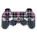 DecalGirl PS3C-PLAID-PNK PS3 Controller Skin - Pink Plaid (Skin Only)