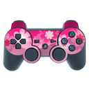 DecalGirl PS3C-RETROFLOWER-PNK PS3 Controller Skin - Retro Pink Flowers (Skin Only)