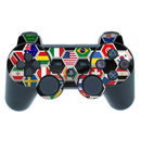 DecalGirl PS3C-SFLAGS PS3 Controller Skin - Soccer Flags (Skin Only)