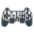 DecalGirl PS3 Controller Skin - White Tiger Stripes (Skin Only)