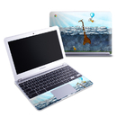 DecalGirl SCB1-ATCLOUDS Samsung 11-6 Chromebook Skin - Above The Clouds (Skin Only)