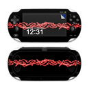 DecalGirl SPSV-BARBS-RED Sony PS Vita Skin - Neon Red Barbs (Skin Only)