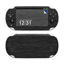DecalGirl SPSV-BLACKWOOD Sony PS Vita Skin - Black Woodgrain (Skin Only)
