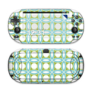 DecalGirl SPSV-BLUGEO Sony PS Vita Skin - Blue Geo (Skin Only)
