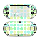 DecalGirl Sony PS Vita Skin - Big Dots Mint (Skin Only)