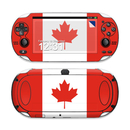 DecalGirl SPSV-FLAG-CANADA Sony PS Vita Skin - Canadian Flag (Skin Only)