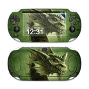 DecalGirl SPSV-GRNDRGN Sony PS Vita Skin - Green Dragon (Skin Only)
