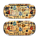 DecalGirl SPSV-GTRCOL Sony PS Vita Skin - Guitar Collage (Skin Only)