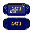 DecalGirl SPSV-NAVY-RETIRED Sony PS Vita Skin - Navy Retired (Skin Only)
