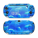 DecalGirl Sony PS Vita Skin - Swimming Dolphins (Skin Only)