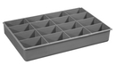 Durham 124-95-16-IND 16 Compartment inserts for Large Boxes