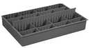 Durham 124-95-EXL-IND Variable Compartment inserts for Large Boxes with 6 Dividers, (3) Vertical & (3) Horizontal
