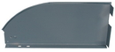 Durham 1241-95-IND Adjustable Steel Divider Gray powder coat paint