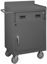 Durham 2203-LU-95 Mobile Bench Cabinet with 5