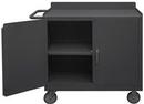 Durham 2210A-LU-95 Mobile Bench Cabinet 36 x 18-1/4 x 38-1/2