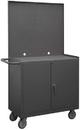 Durham 2210A-PB-LU-95 Mobile Bench Cabinet Pegboard Panel
