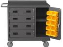 Durham 2211-DLP-RM-10B-95 16 Gauge Mobile Bench Cabinets