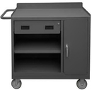 Durham 2212A-LU-95 Mobile Bench Cabinet with 5