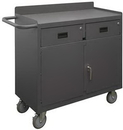 Durham 2213A-LU-95 Mobile Bench Cabinet with 5
