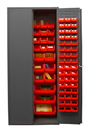 Durham 2500-138B-1795 16 Gauge Cabinets with Hook-On Bins