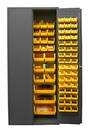 Durham 2500-138B-95 16 Gauge Cabinets with Hook-On Bins