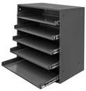 Durham 305B-95 Large Compartment Boxes, 5 Lr Bearing Rack