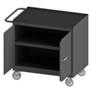 Durham 3100RM-5PU-95 Mobile Bench Cabinet with 5