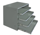 Durham 310B-95 Large Compartment Boxes, 4 Lr Tt Bearing Rack