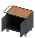 Durham 3112-TH-95 Mobile Bench Cabinet with 5