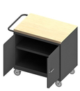 Durham 3113-MT-95 Mobile Bench Cabinet with 5