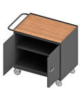 Durham 3113-TH-95 Mobile Bench Cabinet with 5