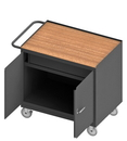 Durham 3115-TH-95 Mobile Bench Cabinet with 5