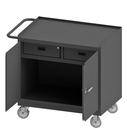 Durham 3116-95 Mobile Bench Cabinet with 5