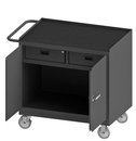 Durham 3116-RM-95 Mobile Bench Cabinet with 5