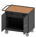 Durham 3116-TH-95 Mobile Bench Cabinet with 5