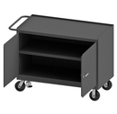 Durham 3412-FL-95 Mobile Bench Cabinet with 6