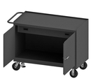Durham 3413-FL-95 Mobile Bench Cabinet with 6