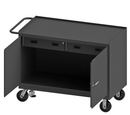 Durham 3415-FL-95 Mobile Bench Cabinet with 6